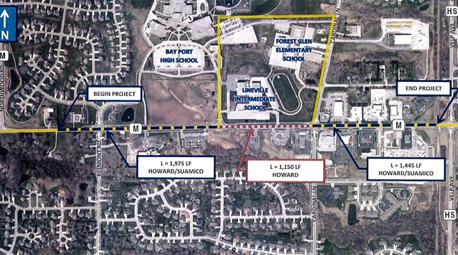 Suamico Board Backs Expansion Design For Lineville Road The Press