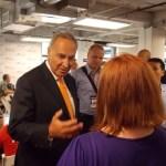 Chuck Schumer at DNC: We will pass ENDA