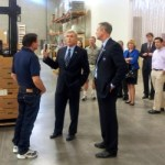Walter Dalton tours gay-owned Greensboro business