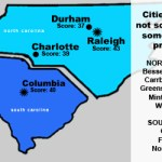 Carolinas cities receive average scores on LGBT equality