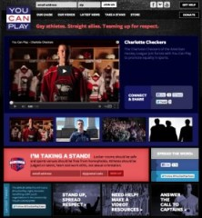 Charlotte Checkers are featured on the You Can Play Project website.