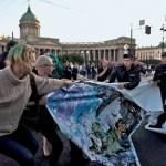 National & Global: Human rights activists target Russian anti-gay law at G20 protests