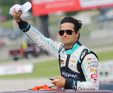 NASCAR Nationwide Series driver Nelson Piquet Jr. has been fined $10,000 for an anti-gay slur. Photo Credit: Royalbroil, via Wikipedia. Licensed CC.