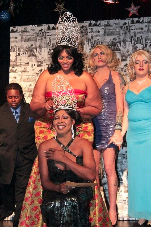 Malaysia Black was crowned Miss Augusta Pride in 2013.