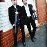 Twin violin duo to electrify Augusta Pride