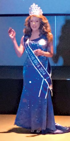 Angela Lopez was crowned Miss Don't H8 Diva 2014.
