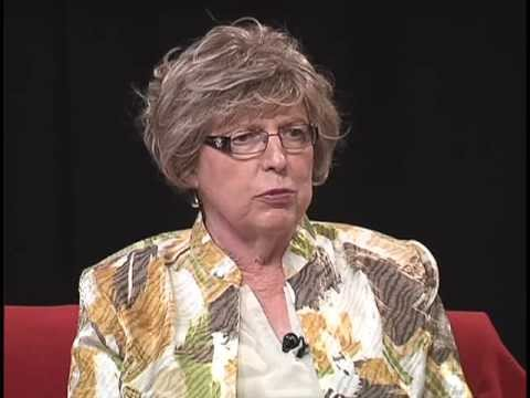 Roberta Dunn has resigned from the LGBT Community Center of Charlotte Board of Trustees. Above: Dunn pictured in a still from an episode of the Paul Brown Show.