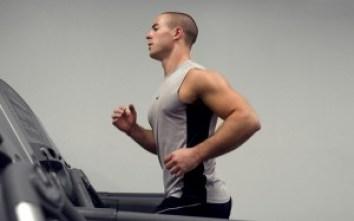 exercise man treadmill
