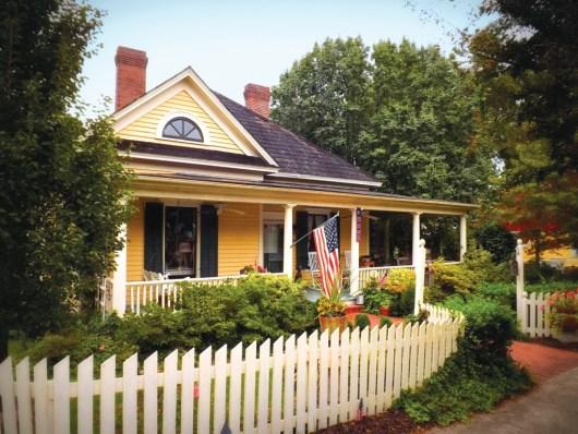 T.J. Anderson House. Photo Credit: Brian Davis