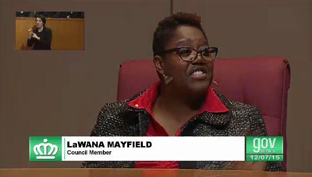 lawana mayfield charlotte city council