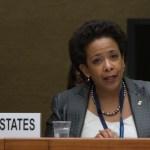 DOJ Attorney General Loretta Lynch announces federal lawsuit against NC over HB2
