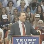 McCrory makes bathroom joke again while speaking at yet another Trump rally