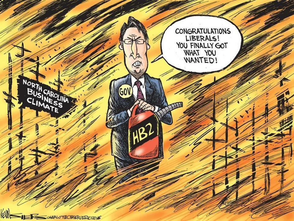 kevin siers political cartoon hb2
