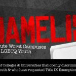 Eight colleges in the Carolinas make Campus Pride's Shame List