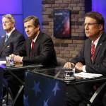 Watch: McCrory, Cooper spar over HB2 in final debate