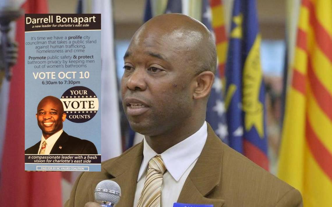Darrell Bonapart NC Values Coalition