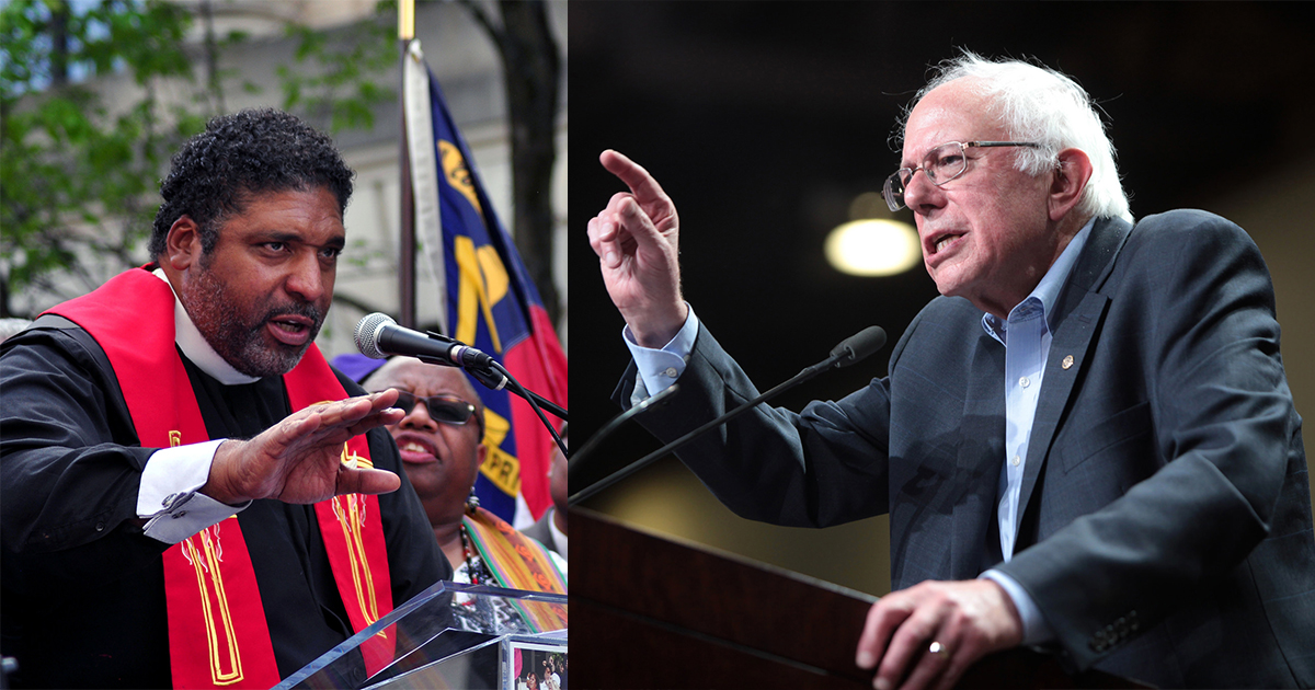 william barber bernie sanders