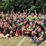 Charlotte Royals Rugby wins trophy in Bingham World Cup