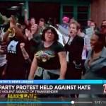 Dance protest raises trans awareness