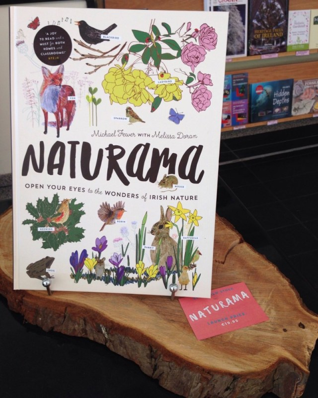 Naturama in the gift shop at the National Botanic Gardens Dublin