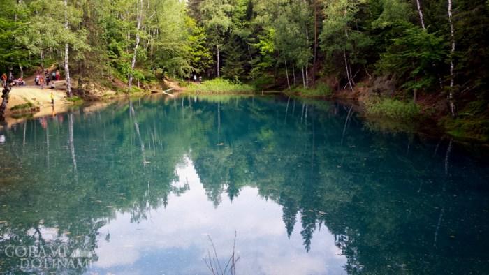Kolorowe Jeziorka - Błękitne Jeziorko