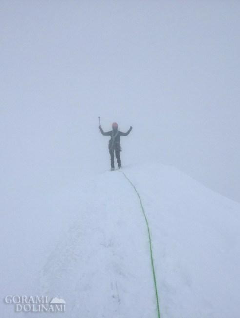 Pollux - szczyt, Alpy Walijskie