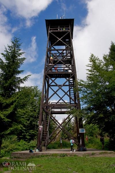 Mogielica wieża widokowa
