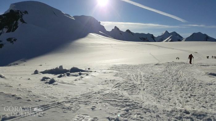 Breithornpass i masyw Breithorn