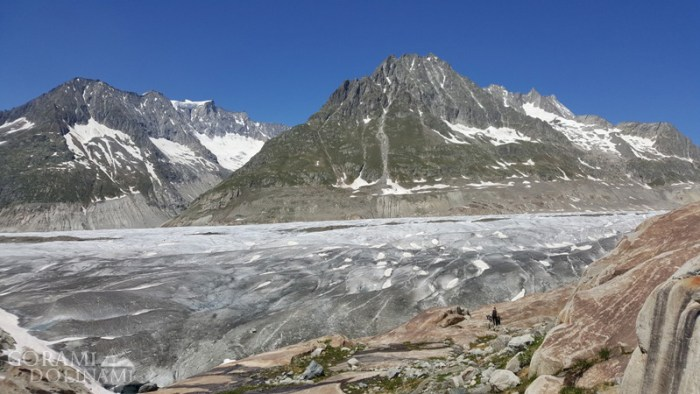 Aletschgletscher - początek