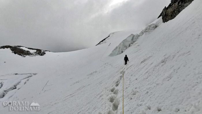 Finsteraarhorn lodowiec
