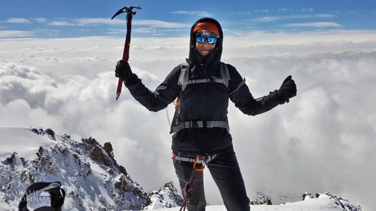 Kazbek na szczycie