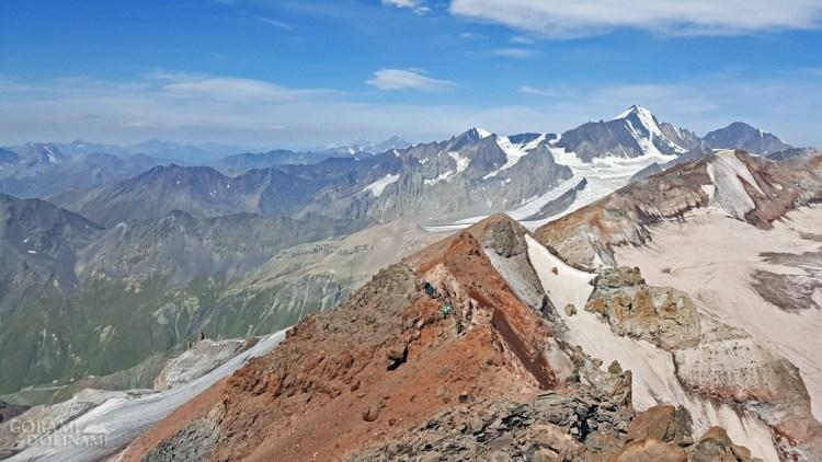 Widoki ze szczytu Ortsveri