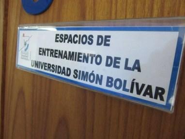 Espacios de entrenamiento de la Universidad Simon Bolívar- Locación del Canva Workshop