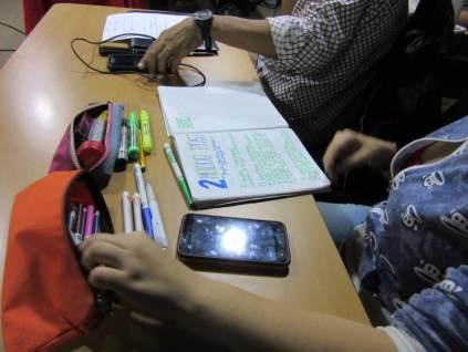 Creatividad total en los participantes del Taller Community Management para todos
