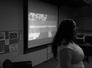 Aura Brito describiendo el rol del Community Manager