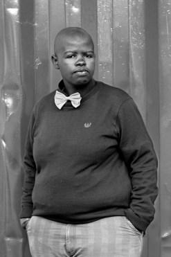 Zanele Muholi, Lungile Cleo Dladla, KwaThema Community Hall, Springs, Johannesburg, 2011. Zanele Muholi.
