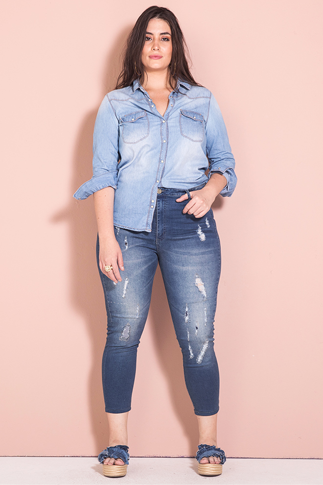 Nation Plus total denim