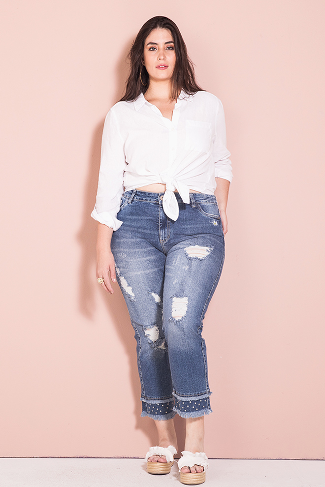 Nation Plus denim jean