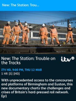 The Station: Trouble On The Tracks - 12-03-2020 - YouView app