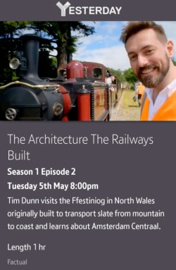 The Architecture The Railways Built - 05/05/2020 BT TV app