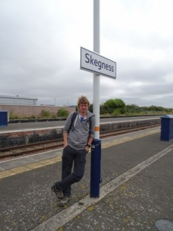Myself at Skegness railway station