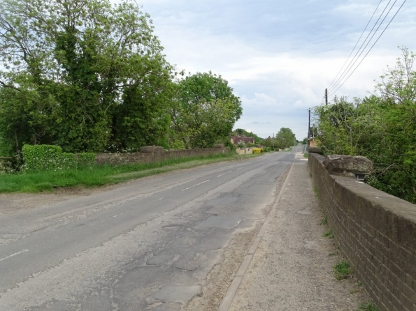 37 Bridge on Bourne to Saxby railway line