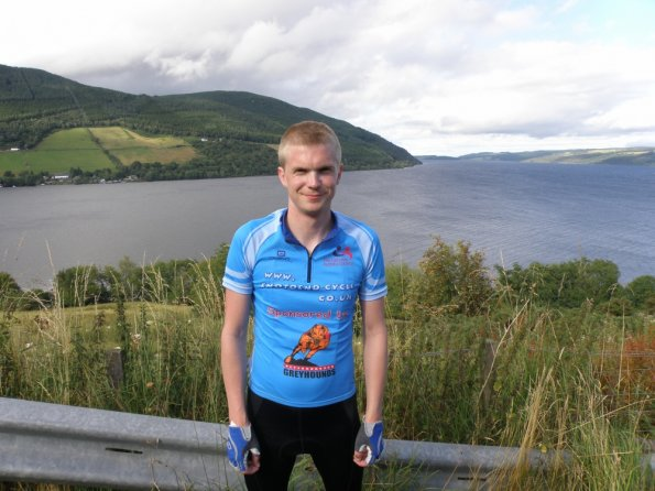Loch Ness on the third day of the End to End cycle