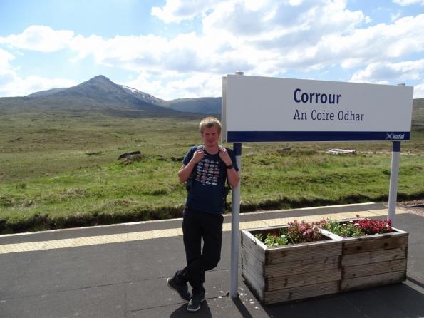 Corrour railway station