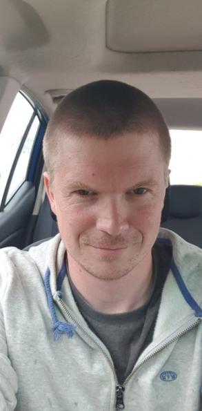 After hair cut