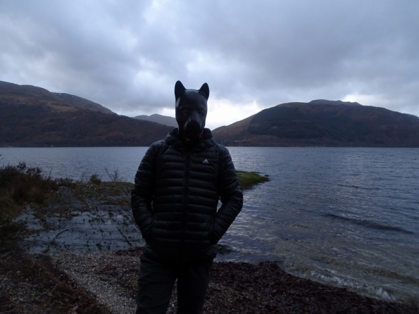 Pup play at Loch Lomond