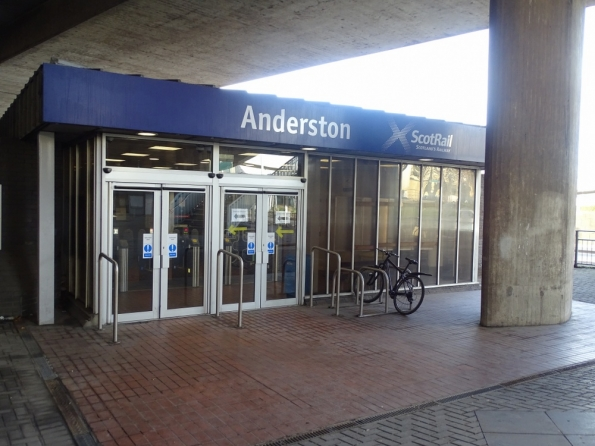 Anderston railway station