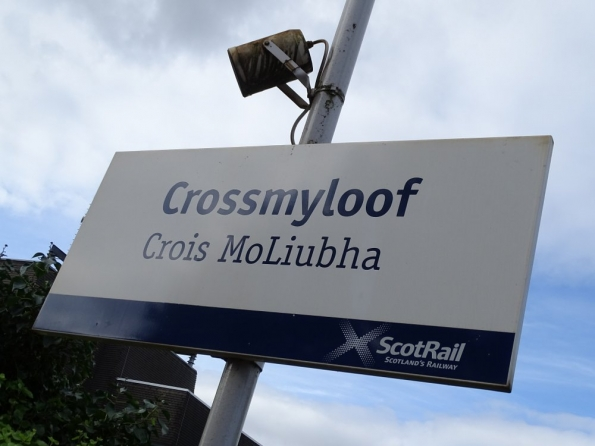 Crossmyloof railway station