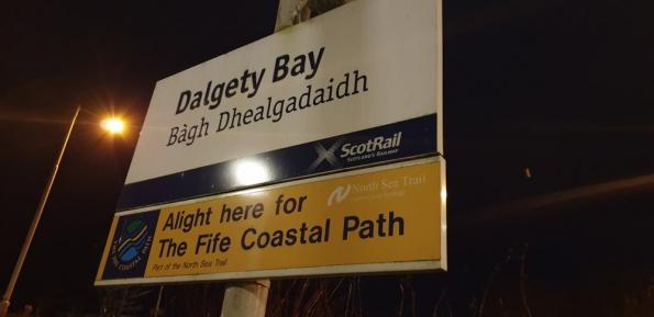 Dalgety Bay railway station