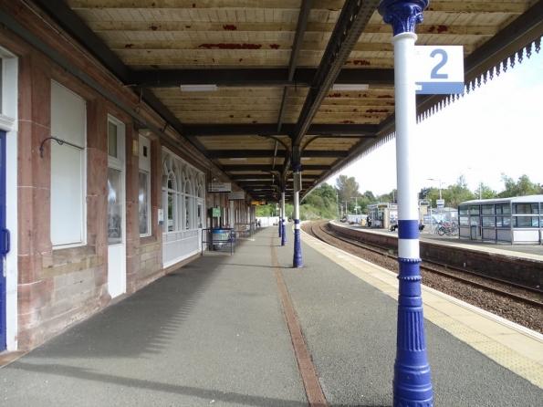 Dunfermline Town railway station